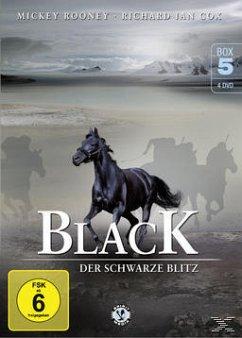Black, der schwarze Blitz - Box 5 DVD-Box
