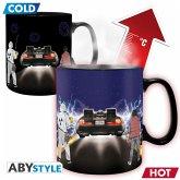ABYstyle - Zurück in die Zukunft Thermoeffekt Tasse
