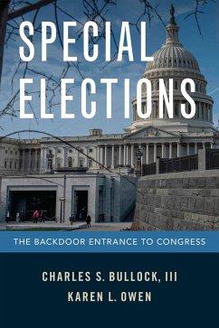 Special Elections (eBook, PDF) - Bullock, Charles S. III; Owen, Karen L.