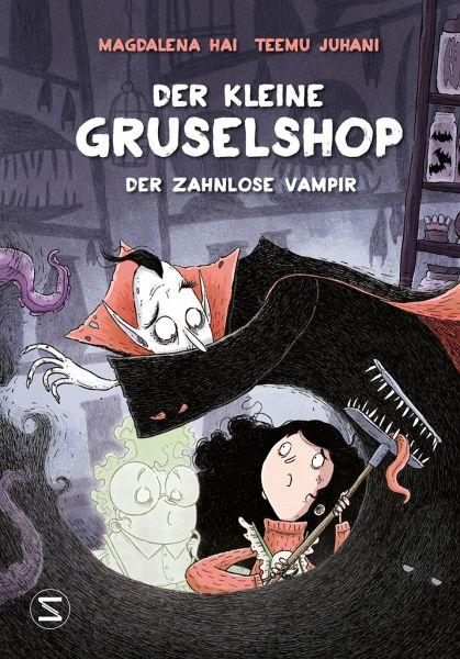 Buch-Reihe Der kleine Gruselshop