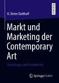 Markt und Marketing der Contemporary Art (eBook, PDF)
