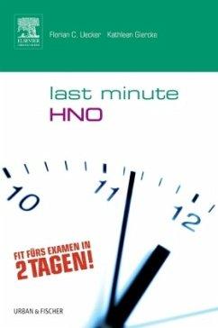 Last Minute HNO - Uecker, Florian C.;Uecker, Kathleen