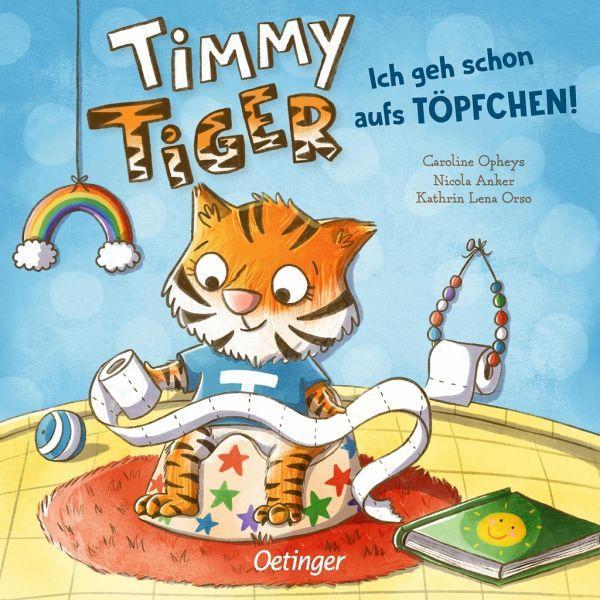 Buch-Reihe Timmy Tiger