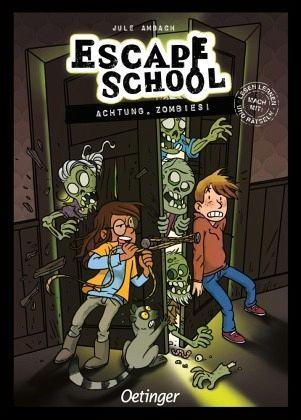 Buch-Reihe Escape School