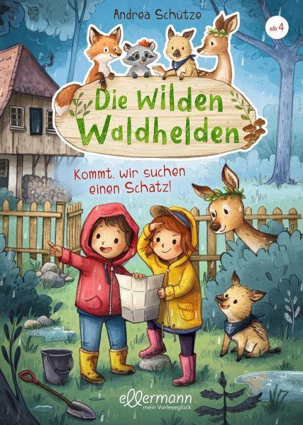 Buch-Reihe Die wilden Waldhelden