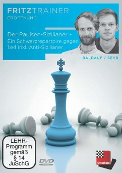 Der Paulsen-Sizilianer - Ein Schwarzrepertoire gegen 1.e4 inkl. Anti-Sizilianer, DVD-ROM