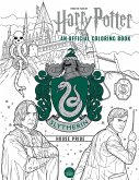 Harry Potter: Slytherin House Pride: The Official Coloring Book: (gifts Books for Harry Potter Fans, Adult Coloring Books)