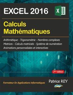Calculs mathematiques avec EXCEL 2016