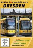 Dresden - Mit Linie 3 & 4 gemütlich durch Dresden - Straßenbahnmitfahrten