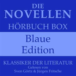 Die Novellen Hörbuch Box – Blaue Edition (MP3-Download) - Goethe, Johann Wolfgang von; Schiller, Friedrich; Kafka, Franz