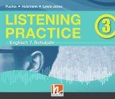Listening Practice 3, 3 Audio-CD