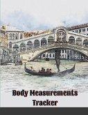 Body Measurements Tracker: Body Progress Tracker For Women, Cute Cardboard Cover