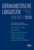 Dynamik in den deutschen Regionalsprachen: Gebrauch und Wahrnehmung (eBook, PDF)