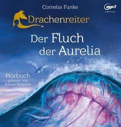 Der Fluch der Aurelia / Drachenreiter Bd.3 (2 MP3-CDs) - Funke, Cornelia