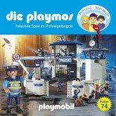 Die Playmos, Folge 74: Falsches Spiel im Polizeigefängnis (MP3-Download)
