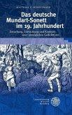 Das deutsche Mundart-Sonett im 19. Jahrhundert (eBook, PDF)