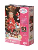 Zapf Creation® 830260 - BABY born Adventskalender - Puppenadventskalender mit 24 Überaschungen bestehend aus Kleidungsstücken und Accessoires