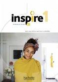 Inspire 1 - Internationale Ausgabe. Kursbuch mit Code, Parcours digital® und Beiheft