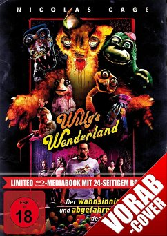 Willy's Wonderland Limited Mediabook - Cage,Nicolas/Tosta,Emily/Grant,Beth/+