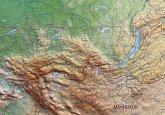 Russland Reliefkarte groß 1:1.150.000 mit Aluminiumrahmen