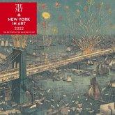New York in Art 2022 Wall Calendar