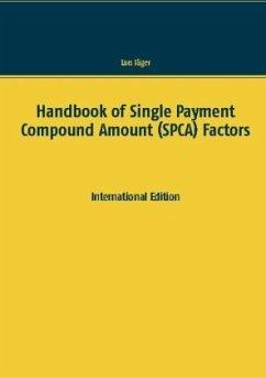 Handbook of Single Payment Compound Amount (SPCA) Factors