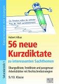 56 neue Kurzdiktate 9./10. Klasse
