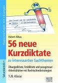 56 neue Kurzdiktate 7./8. Klasse