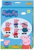 Hama 7965 - Kleine Geschenkpackung Peppa Pig, Bügelperlen midi, 2000 Stück