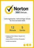 NortonLifeLock Norton 360 Deluxe (5 Geräte / 1 Jahr) (Download für Windows)