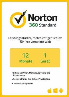 NortonLifeLock Norton 360 Standard (1 Gerät / 1 Jahr) (Download für Windows)