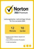 NortonLifeLock Norton 360 Premium (10 Geräte / 1 Jahr) (Download für Windows)