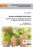 Analyse nachhaltiger Aktien-Fonds. Empirische Analyse von Nachhaltigkeit und Rendite ausgewählter nachhaltiger Aktien-Fonds