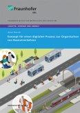 Konzept für einen digitalen Prozess zur Organisation von Busnotverkehren.
