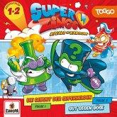 SuperZings - Die Geburt der Superhelden / Gut gegen Böse, 1 Audio-CD