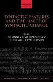 Syntactic Features and the Limits of Syntactic Change (eBook, PDF)