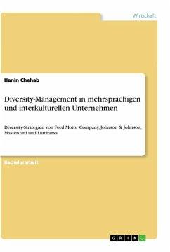 Diversity-Management in mehrsprachigen und interkulturellen Unternehmen - Chehab, Hanin