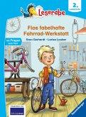 Flos fabelhafte Fahrrad-Werkstatt - Leserabe ab 2. Klasse - Erstlesebuch für Kinder ab 7 Jahren