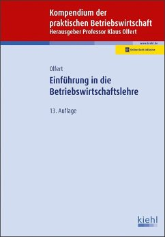 Einführung in die Betriebswirtschaftslehre - Olfert, Klaus