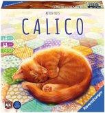 Ravensburger 27038 - Calico, Abwechslungsreiches Legespiel für Erwachsene, Kinder und Katzen Fans ab 10 Jahren, Ideal für Spieleabende für 1-4 Spieler