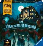 Ravensburger Familienspiel - 26948 Mystery Games: Der verfluchte Geburtstag - kooperatives Geschichten-Mystery-Spiel für