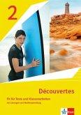 Découvertes 2. Ausgabe 1. oder 2. Fremdsprache. Fit für Tests und Klassenarbeiten mit Lösungen und Mediensammlung 2. Lernjahr