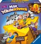 Ravensburger Kinderspiele 24562 - Max Mäuseschreck - Würfel-Laufspiel für 2 bis 4 Spieler ab 4 Jahren