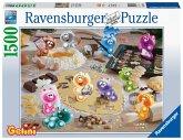 Ravensburger Puzzle 16713 - Gelinis Weihnachtsbäckerei - 1500 Teile Puzzle für Erwachsene und Kinder ab 14 Jahren