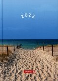 "BRUNNEN 1079615021 Wochenkalender/Buchkalender 2022 Modell 796 ""Strand"""