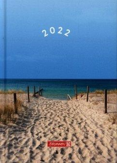 BRUNNEN 1079615021 Wochenkalender/Buchkalender 2022 Modell 796