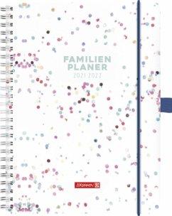 BRUNNEN 1070290012 Familienplaner 2021/2022