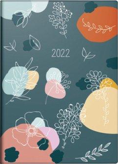 rido/idé 7018307021 Tageskalender/Taschenkalender Modell 2022 Technik III