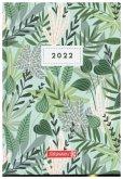 """BRUNNEN 1073115012 Wochenkalender """"Flowers"""" 2022 Modell 731 Grafik-Einband"""