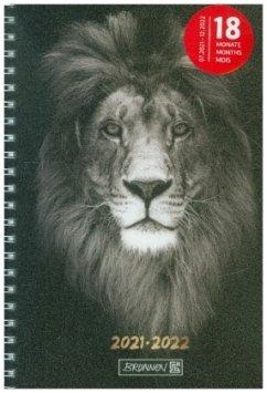 BRUNNEN 1072155062 Wochenkalender/Schülerkalender 2021/2022 Lion